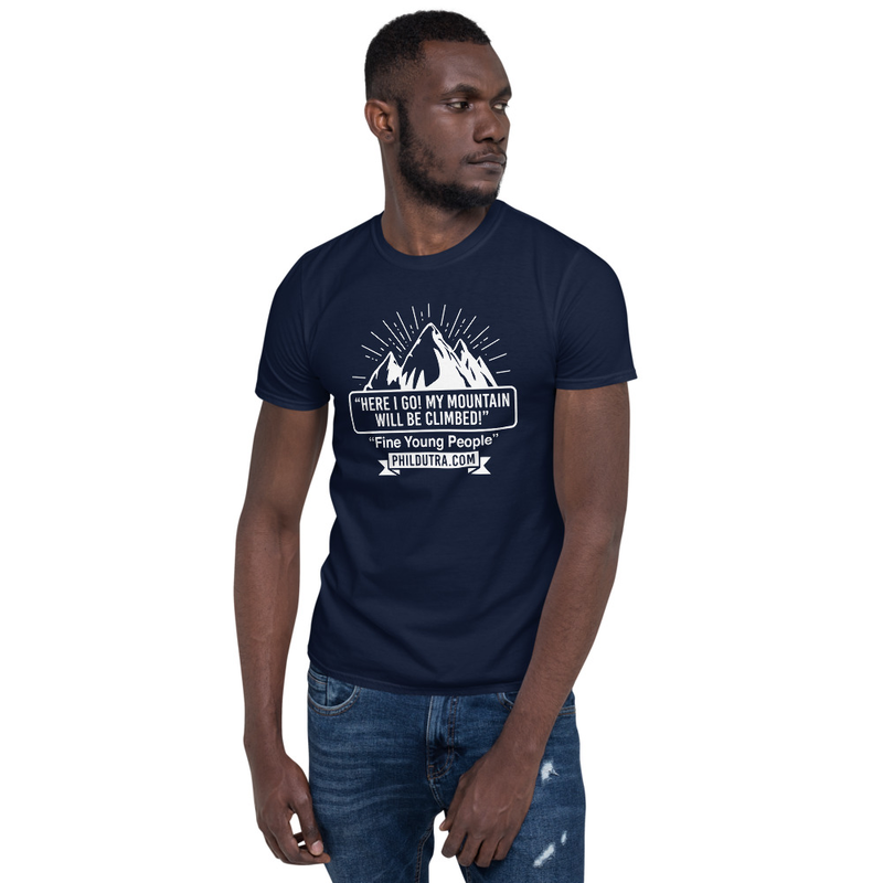 Unisex Mountain Logo Dark T-Shirt