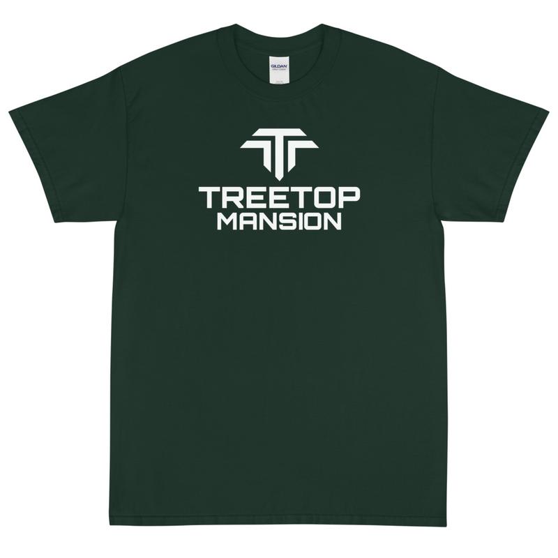 Unisex Short Sleeve T-Shirt - White TM Logo