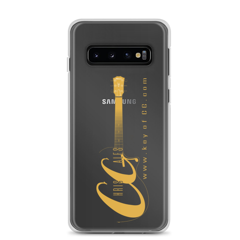 Chris Gales Gold Logo Samsung Case