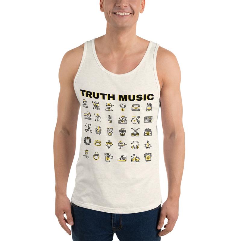 Truth Music Unisex Tank Top