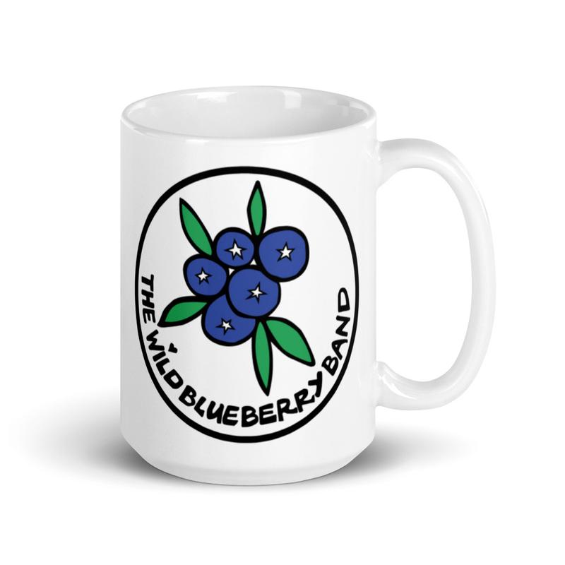 Wild Blueberry Band Mug