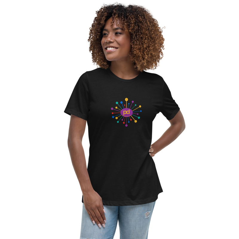 Women's Relaxed Starburst Logo T-Shirt