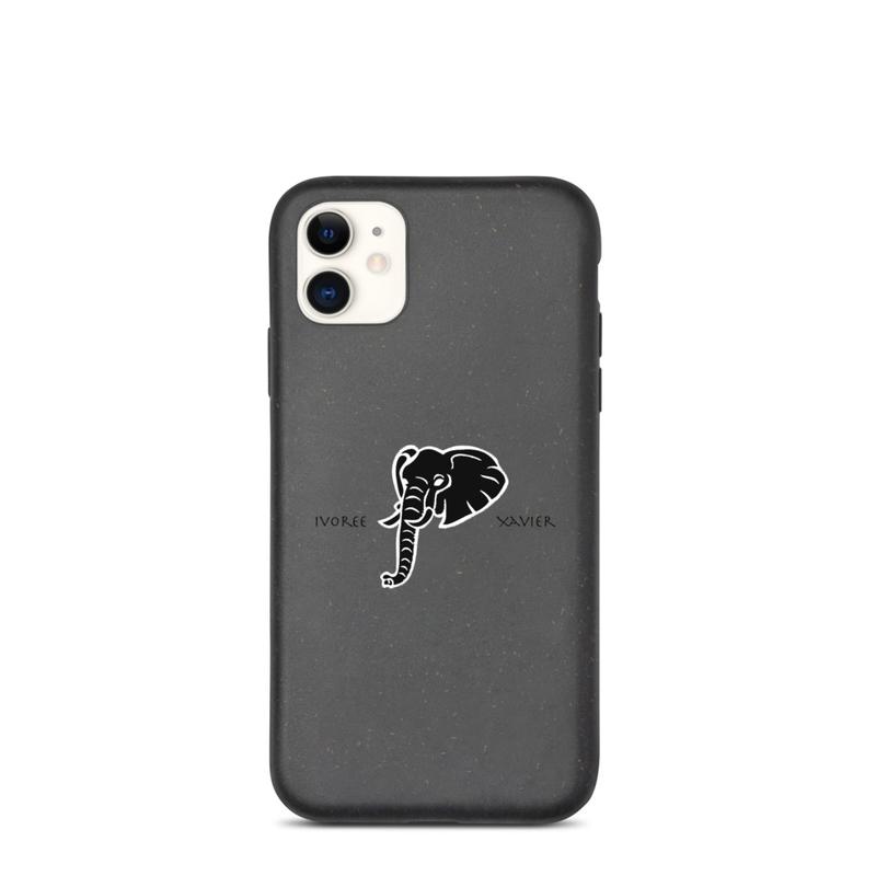 Biodegradable Ivoree iPhone phone case