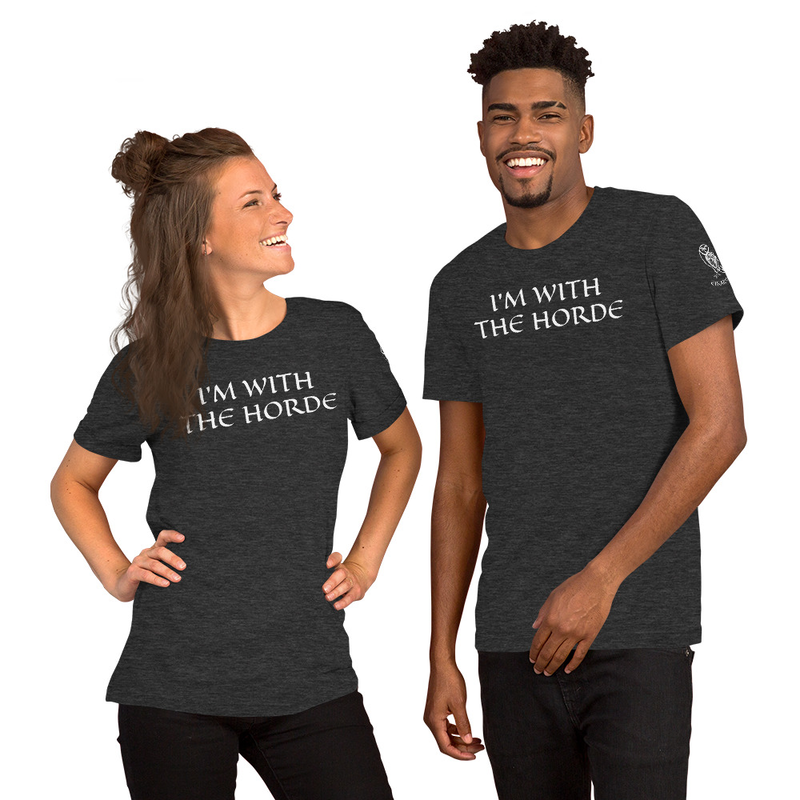 Eikarvik - I'm With The Horde - Short-Sleeve Unisex T-Shirt