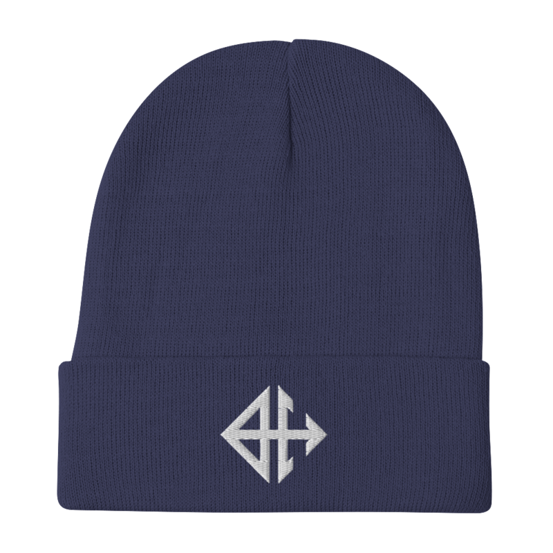 Beyond Here Logo Embroidered Beanie