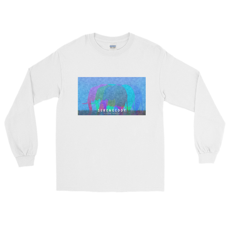 'SerenGeddy' Classic Fit Long Sleeve Shirt
