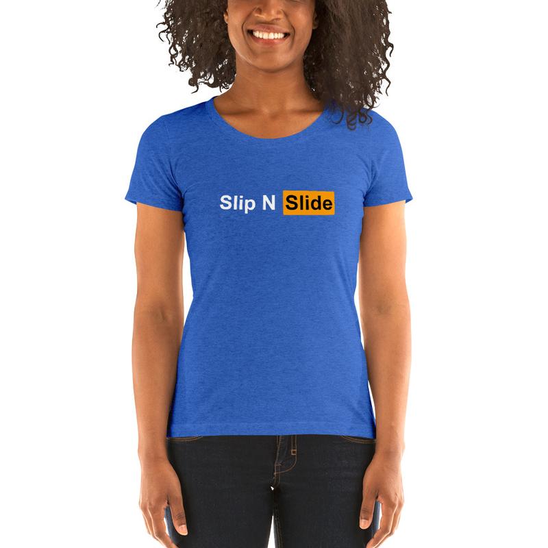 Ladies' short sleeve Slip N Slide t-shirt