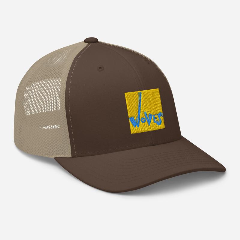 Trucker Cap (Woves - Yellow Sky)