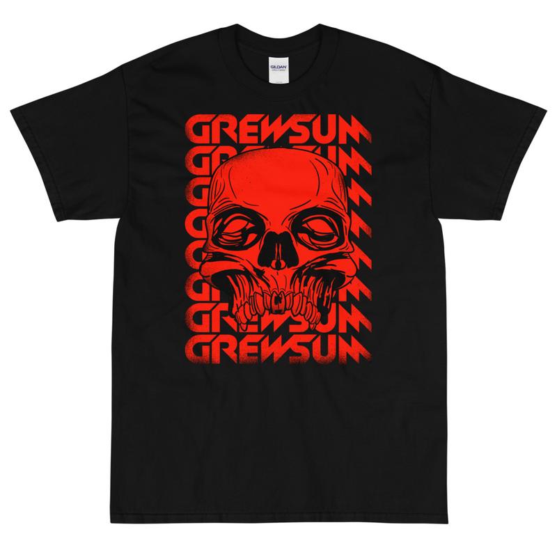 GrewSum - Skull T-Shirt