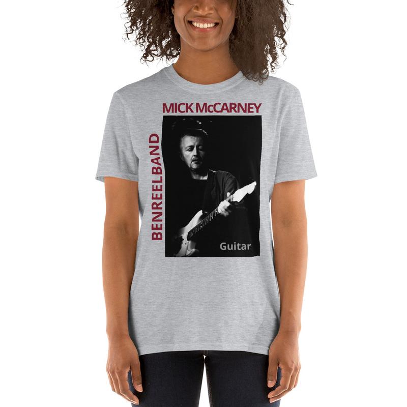 Mick McCarney Guitar- Short-Sleeve Unisex T-Shirt