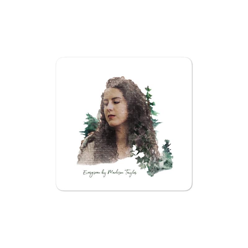 """""""Evergreen"""" sticker"""
