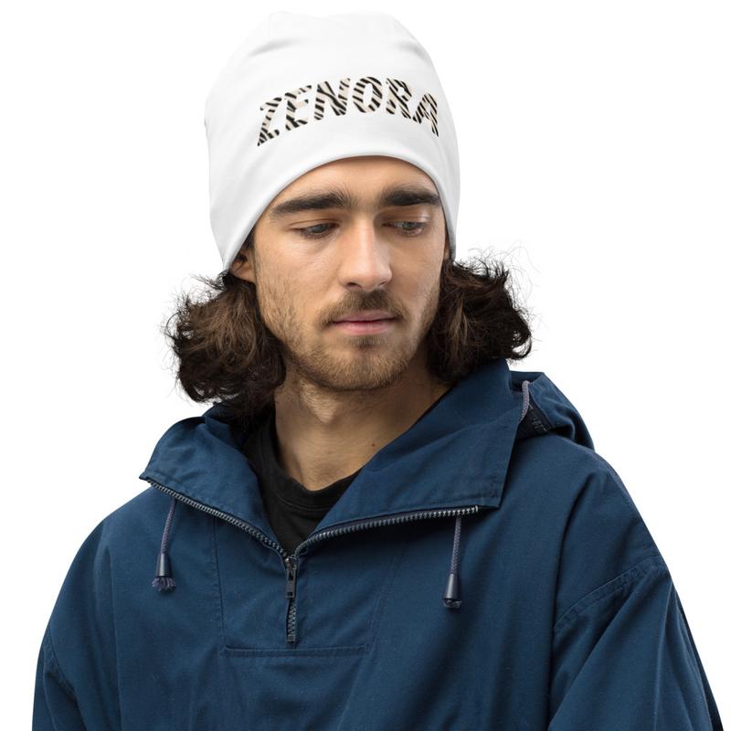 Zenora Print Beanie