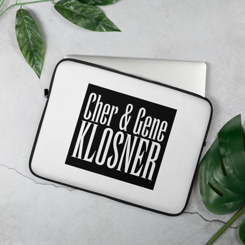Cher & Gene Klosner Laptop Sleeve