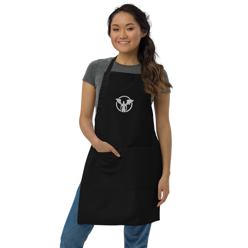 """""""TD"""" Standing Man Logo Embroidered Apron"""