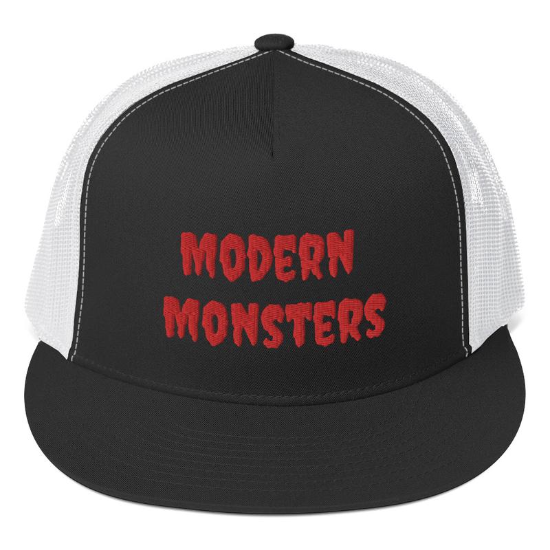 Monster Trucker Cap