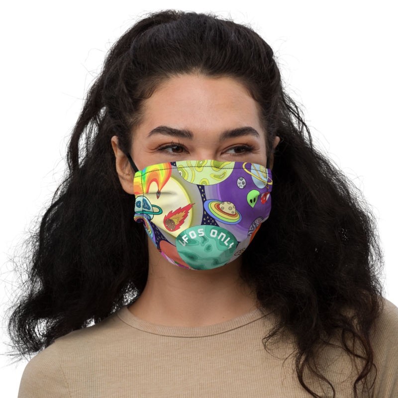 UFOs ONLY Face Mask