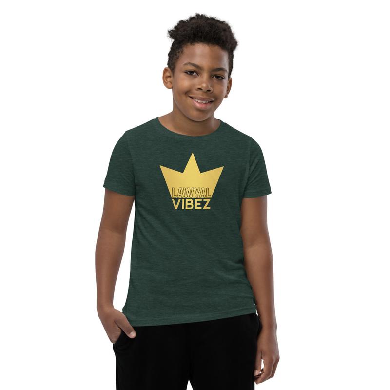 LAWYAL VIBEZ Youth Short Sleeve T-Shirt