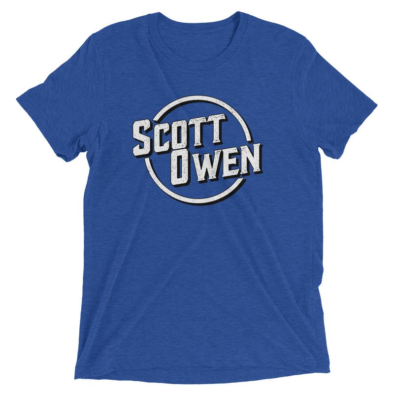 Scott Owen Logo Tri-Blend T-Shirt