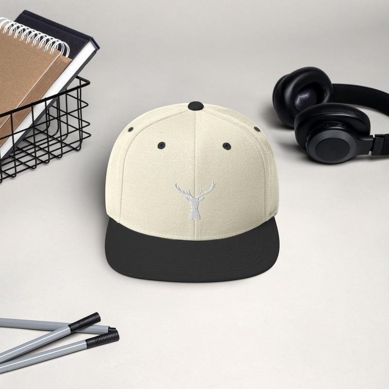 Deer Snapback Hat