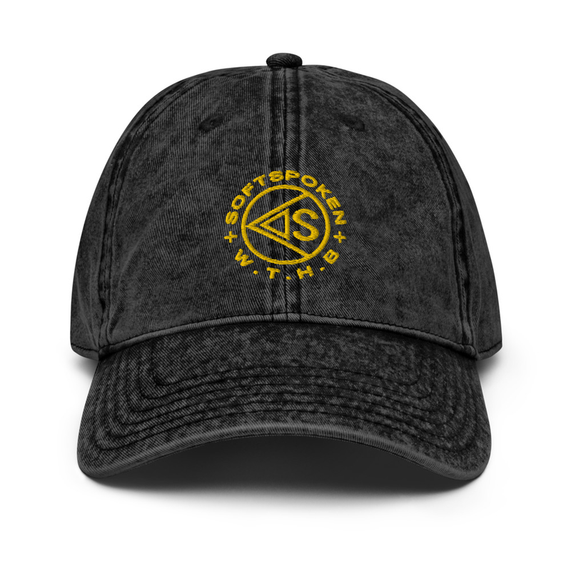 WTHB Denim Dad Hat