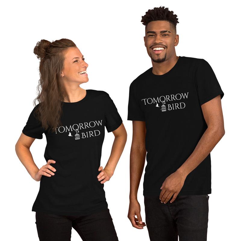 """WHITE LOGO"" Short-Sleeve Unisex T-Shirt"
