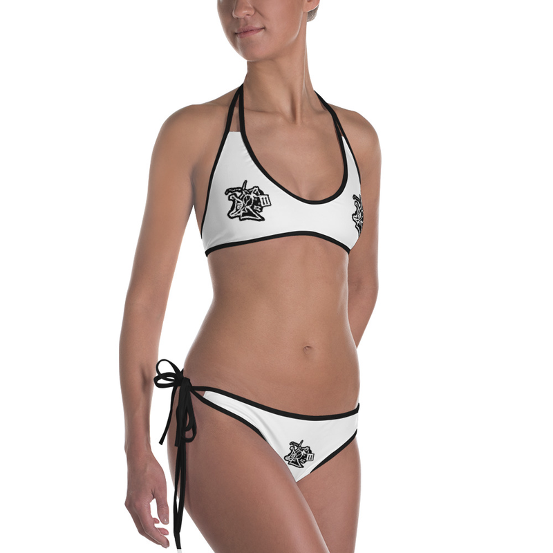 Def BoY Black and White Bikini