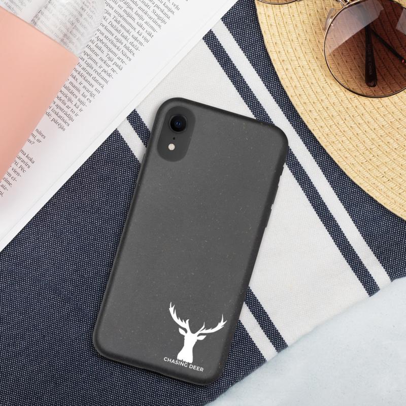 Deer Logo Biodegradable iPhone case