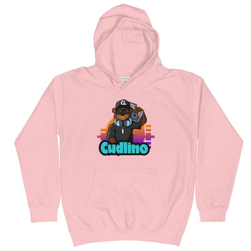 Cudlino Music On Blast Logo - Kids Hoodie