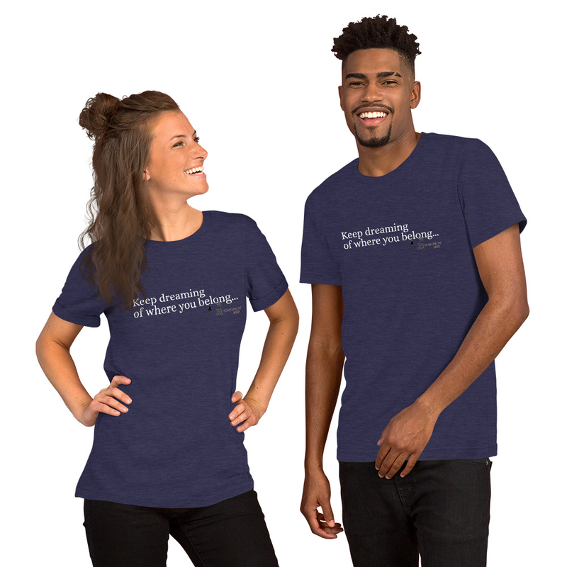 """KEEP DREAMING"" Short-Sleeve Unisex T-Shirt"