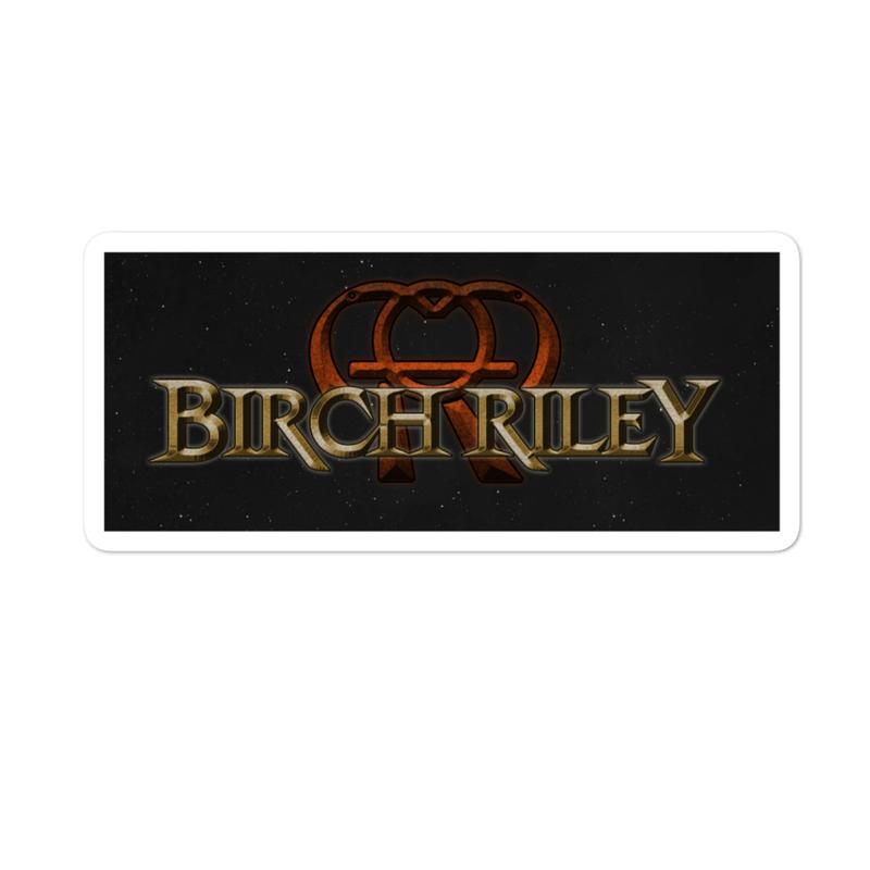 Birch Riley Space Logo Sticker
