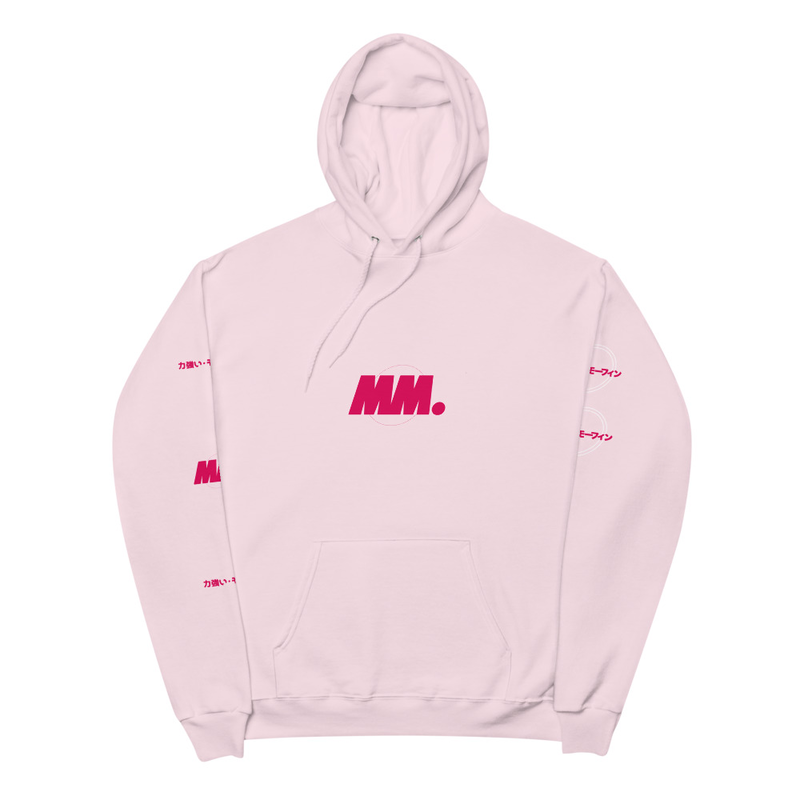 Mighty Morfin Pale Pastel Hoodie V1 Unisex