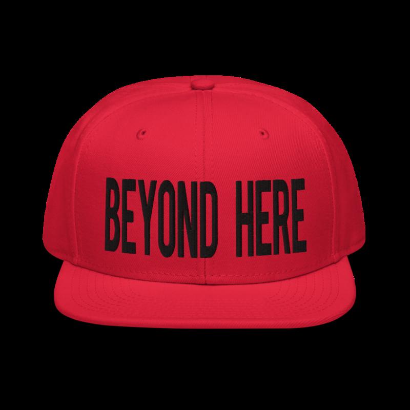 Beyond Here Snapback Hat