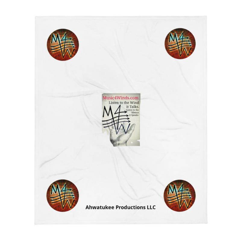 M4W-LISTEN In-Hand - Throw Blanket