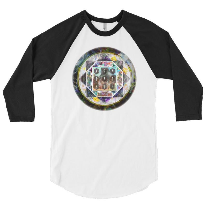 Refraktal Mandala Affect 3/4 sleeve shirt