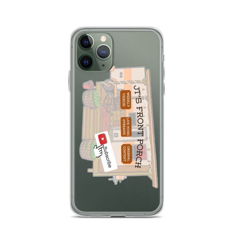 JTs Front Porch YT Subscribe iPhone Case