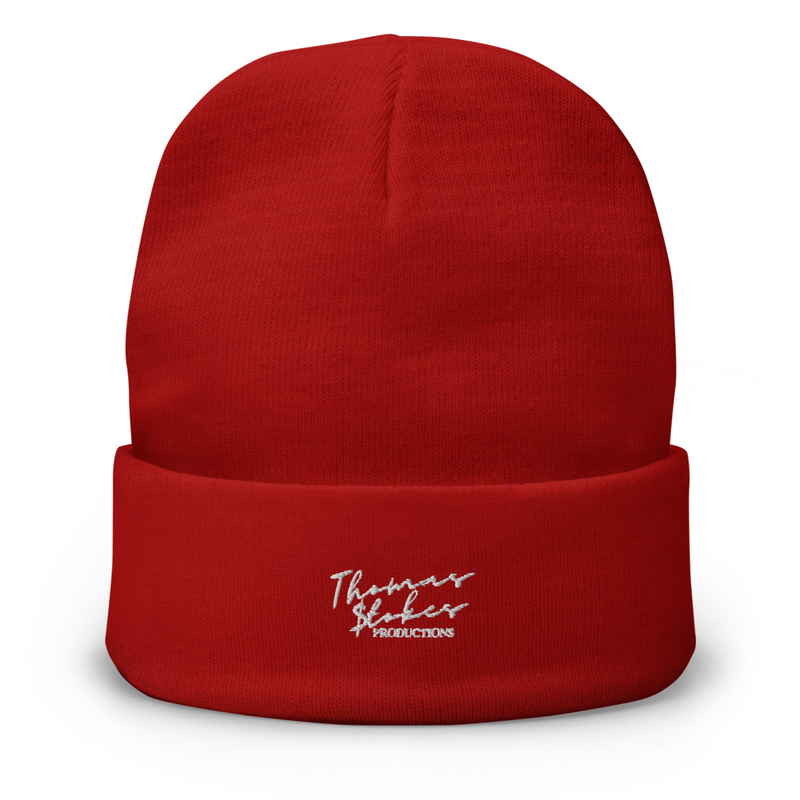 RED SIGNITURE BEANIE