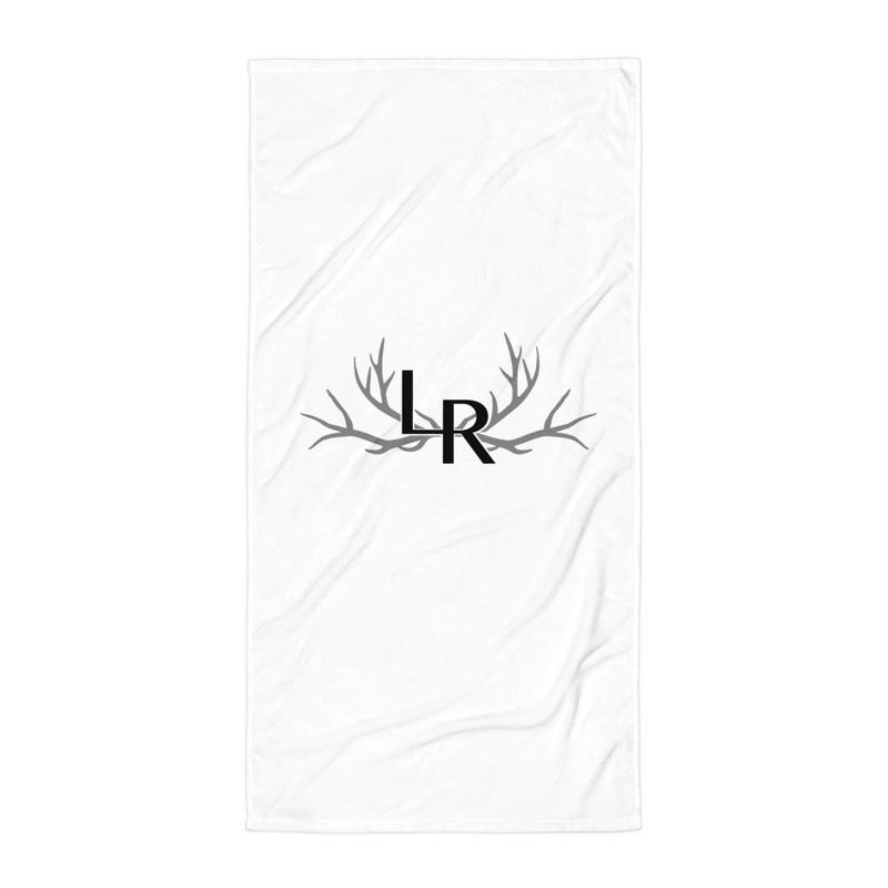 Lady Redneck Beach Towel