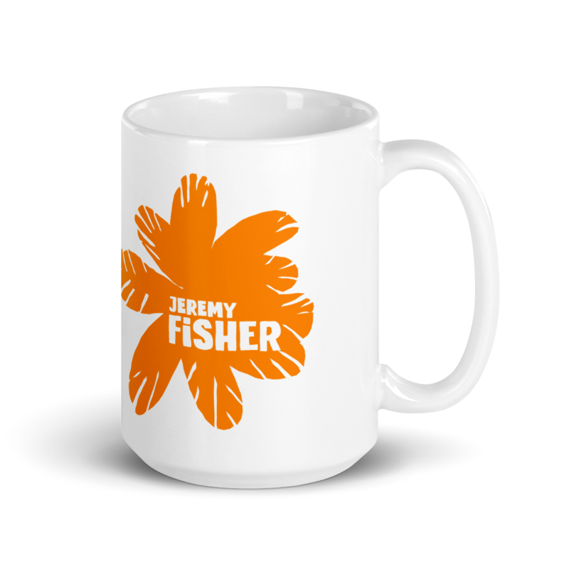Jeremy Fisher glossy mug