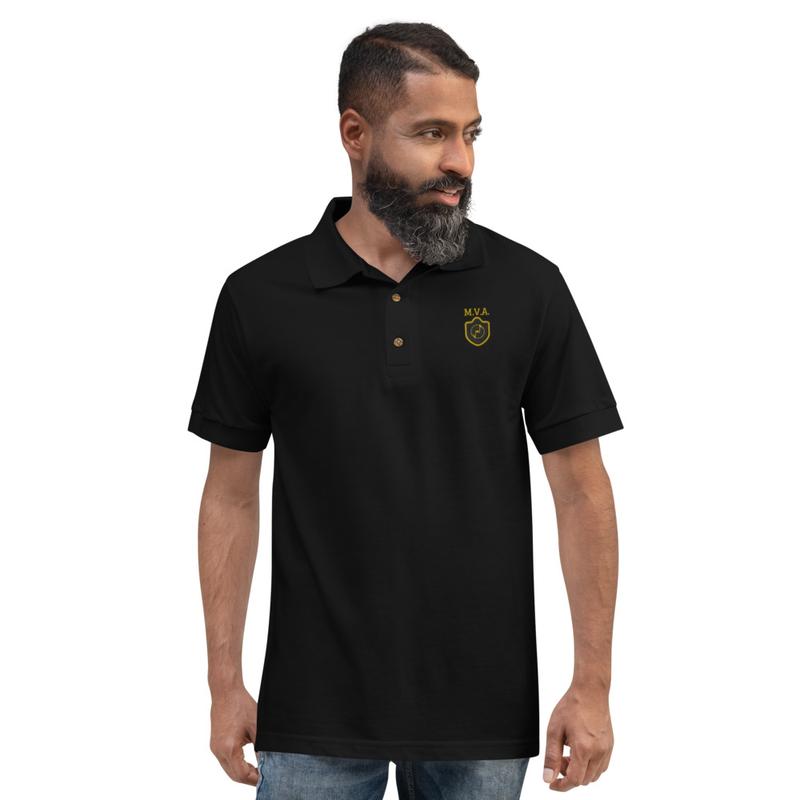MVA Embroidered Polo Shirt