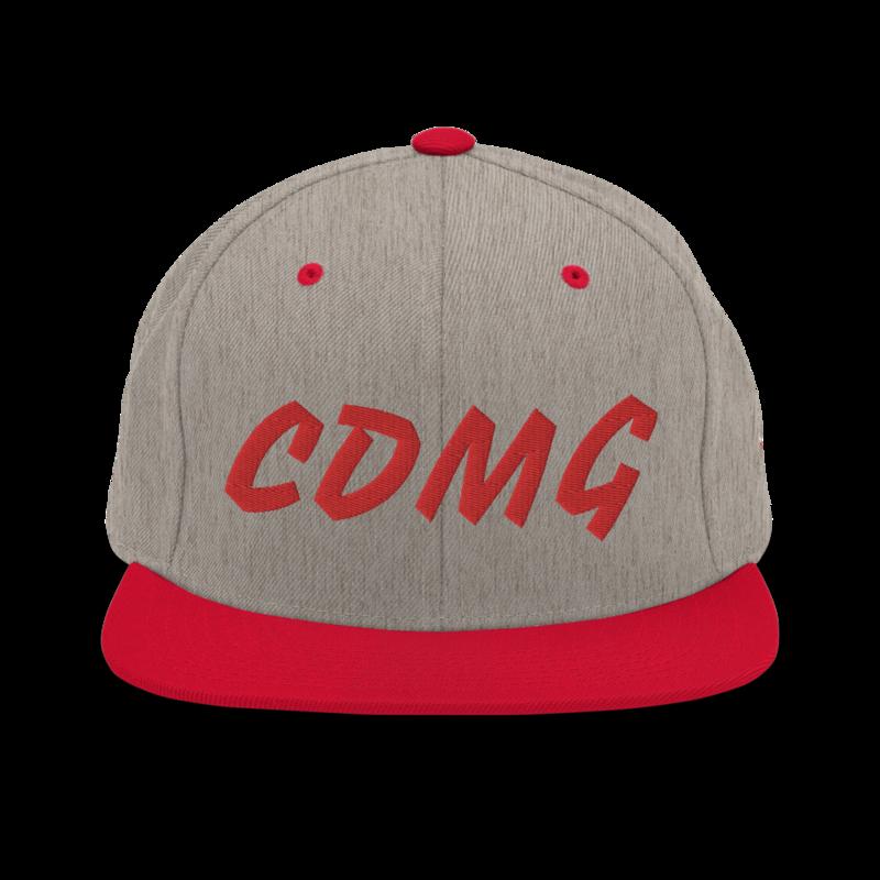 CDMG Custom Snapback Hat