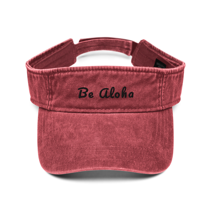 Be Aloha - Denim Visor