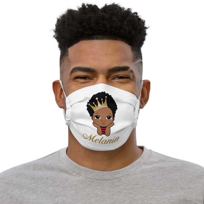 Prince Melanin Premium face mask