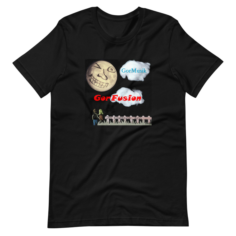 GorMusik Moon Wink Unisex T-Shirt