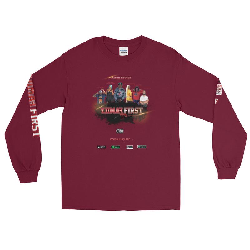 Men's Family First Album Edition Long Sleeve Shirt