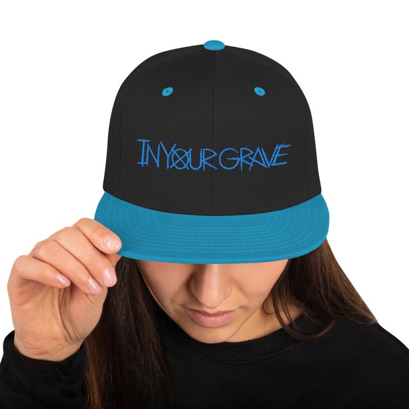 Blue Snapback Hat