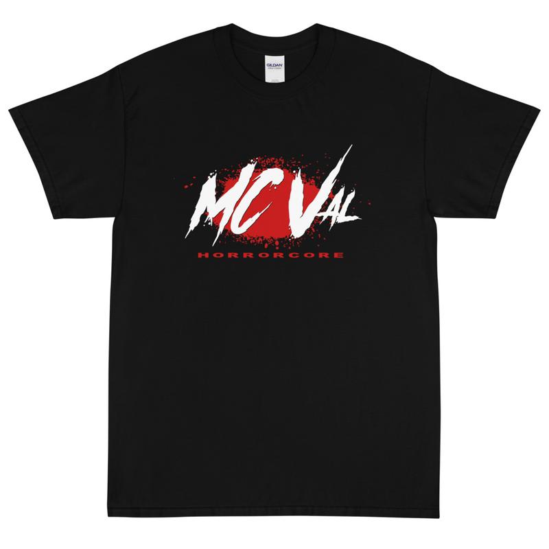 "Men's MC Val Bloody ""Horrorcore"" Shirt"