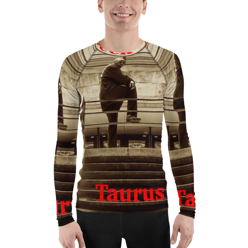 On The Deck All Over Men's Rash Guard