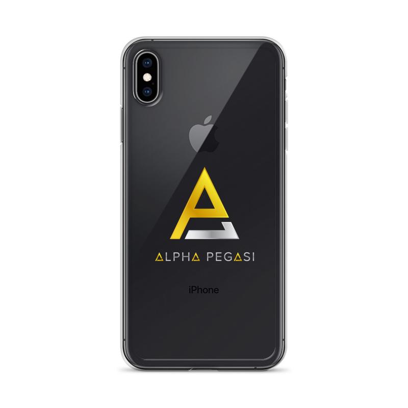 Alpha iPhone Case