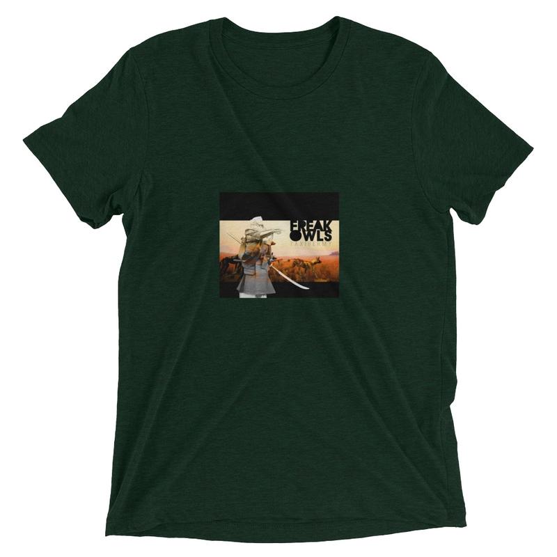 Short sleeve t-shirt (Freak Owls - Taxidermy)