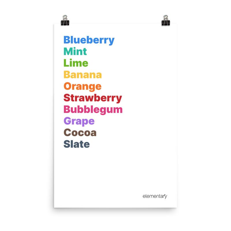 Palette Print – Light